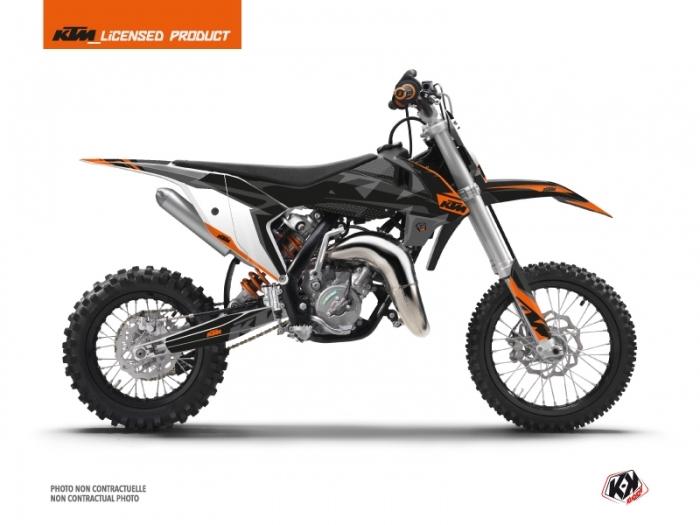 KIT DÉCO  GRAVITY MOTOCROSS KTM SX 50 ORANGE