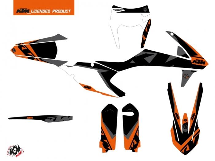 KIT DÉCO  GRAVITY   MOTOCROSS   KTM   EXC-EXCF     ORANGE