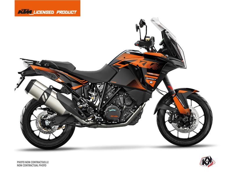 KIT DÉCO  RASTER MOTO KTM SUPER ADVENTURE 1290 S NOIR-ORANGE
