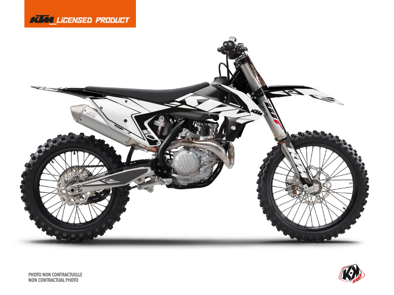 KIT DÉCO  REFLEX MOTOCROSS KTM SX 450 BLANC