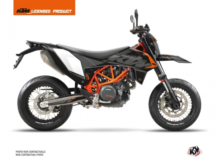 KIT DÉCO  REFLEX   MOTO   KTM   SMC 690 R   NOIR-ROUGE