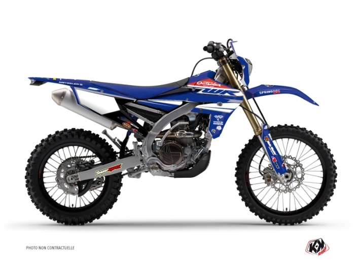 KIT DÉCO  REPLICA TEAM OUTSIDERS MOTOCROSS YAMAHA WR 250 F