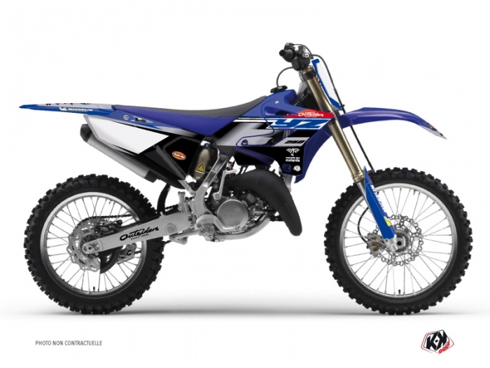 KIT DÉCO  REPLICA TEAM OUTSIDERS   MOTOCROSS   YAMAHA   YZ 250