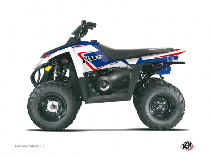 KIT DÉCO  VINTAGE POLARIS   QUAD   POLARIS   SCRAMBLER 500